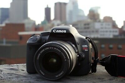 Canon EOS Rebel T2i 18.0MP Digital SLR Camera Body with 18-55mm IS II Kit Lens