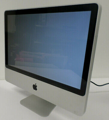 """Apple iMac Model: A1224 20"""" Core 2 Duo 2.2 GHz 2GB RAM 250GB HDD Great Condition"""