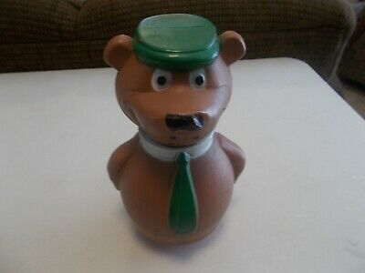 YOGI BEAR ROLY POLY TOY WITH CHIMES BASE 1960's