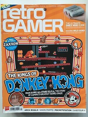 Retro Gamer Issue 171 Donkey Kong- very good condition