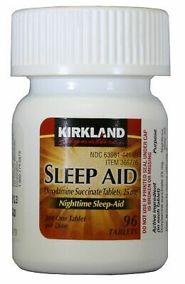 Kirkland Signature Sleep Aid Doxylamine Succinate 25 Mg EXP 01/2020