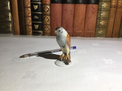 Herend bird figurine hand-painted vintage porcelain Hungary ornament china
