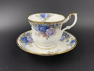 Royal Albert Moonlight Rose Tea Cup And Saucer Set Bone China England New
