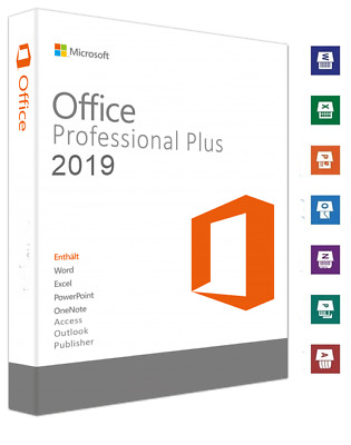 Microsoft Office 2019 Pro Plus Key Office Professional Plus Business, Deutsch