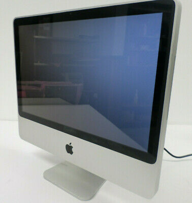 """Apple iMac Model: A1224 20"""" Core 2 Duo 2.4 GHz 2GB RAM 250GB HDD Great Condition"""