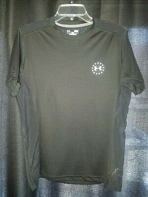 2db938c5 Under Armour Wounded Warrior Project Black Heat Gear Loose Fit Shirt SMALL S