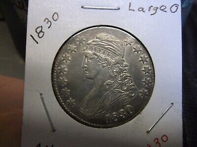 1830 Capped Bust Half ( Large 0 )