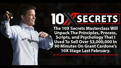 Russell Brunson – 10x Secrets | FULL CONTENT DISCOUNTED PRICE