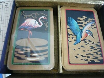 Playing Cards Vintage Double Pack for Patience W D & H O Wills Promotion Packs