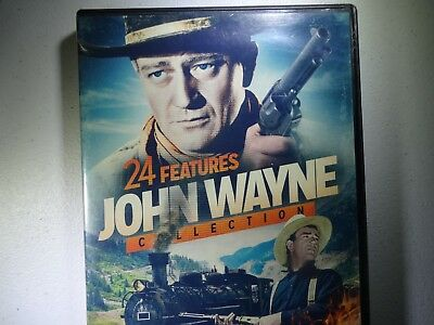 24 Features John Wayne Collection - The Three Musketeers - More!