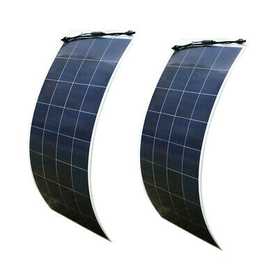 320W 2X160W Flexibele Solar Panel & MC4 Connector Cable for Boat RV Car Camping