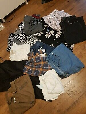 Ladies & Mens Clothing various size Job lot Bundle 30 items