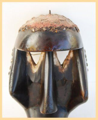CUBIC DAN MASK - From the Dan Tribe of Liberia, Ivory Coast, West Africa