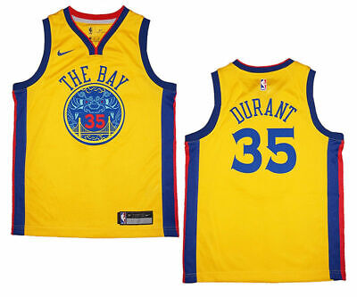 new products 0da8a bb9aa NEW KEVIN DURANT # 35 Golden State Warriors Youth Sizes ...