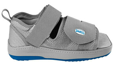 Darco Relief Dual Off Loading Orthopedic Shoe Disability Foot Operation NEW