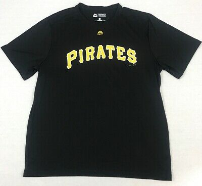 Pittsburgh Pirates Majestic Evolution Tee Cool Base MLB Men's Size XL (5A11)