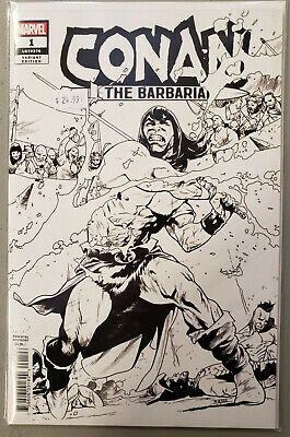 Conan the Barbarian #1 Party Sketch variant (1 per store), NM/NM+ by Aaron !!