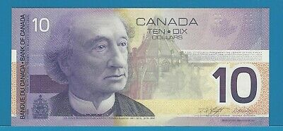 2002 Bank Of Canada $10 BEJ3883628  BC-63b-i  Knight / Dodge Gem Uncirculated