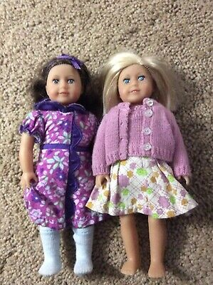American Girl Mini Dolls Ruthie And Kit