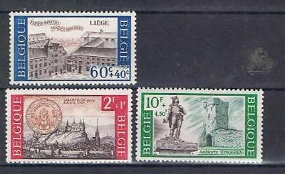 Belgium 1966 Cultural issue selection (missing 1 Fr) MNH