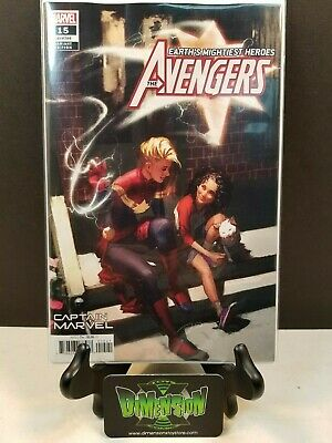 Avengers #15 Captain Marvel Gerald Parel Variant Nm Sold Out 2019 Movie Hot Book