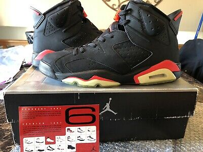 4b528c91924d DS 2000 NIKE Air Jordan 6 Retro Infared Men s Size 13 136038 061 ...