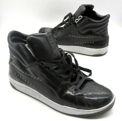 fba1183171a PUMA X MEEK Mill Silver Challenge Patent Leather Size 10 -  25.00 ...