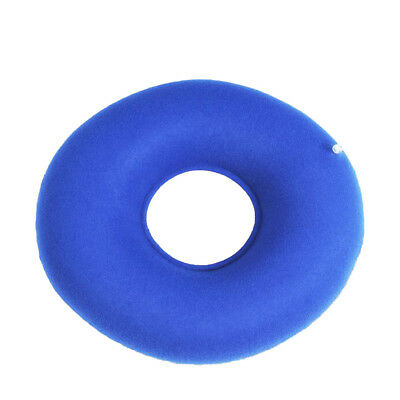 inflatable rubber ring round seat cushion medical hemorrhoid pillow donut +pu