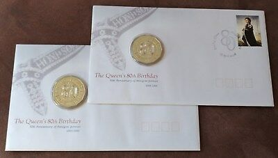 AUSTRALIA 2015 50 cent Long May She Reign Monarch PNC SOLD OUT at MINT 9000 MADE