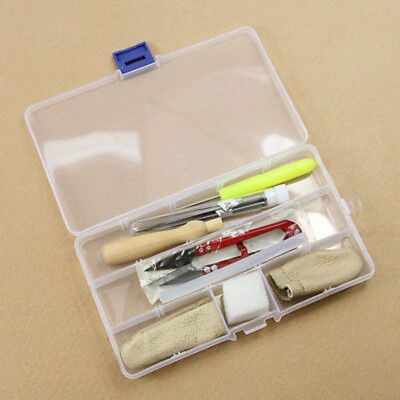 1 Set Kit Wool Felt Tools Needle Felting Starter Kit Mat Scissors Needle