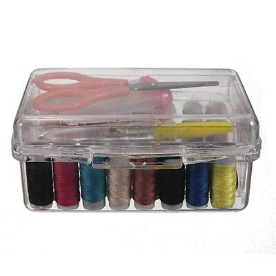 1 Set Sewing Tool Pack Kit Thread Threader Storage Box Sewing Tool Accessory