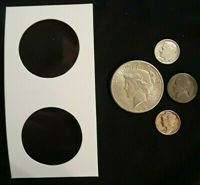 1922 Peace DOLLAR, Dimes & Nickel $1.25 FACE VALUE 90%+35% SILVER U.S.COINS 0079