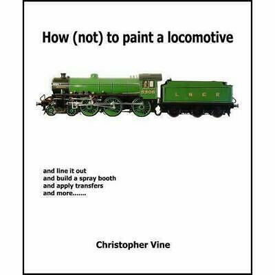How (not) to paint a locomotive and line it out and build a spray booth
