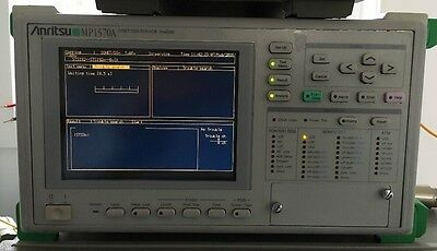 Anritsu MP1570A SONET/SDH/PDH/ATM Analyzer 10G Opt 02, 10, 11