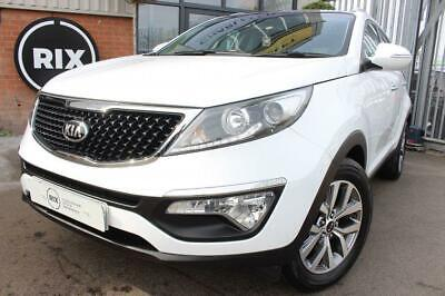 "Kia Sportage,1.6 2 Isg 5D-1 Owner From New-Low Mileage-17"" Alloys-Panoramic Roof"