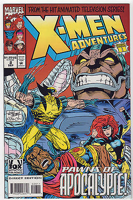X-Men 1988-94 Adventures & Classic LOT of 8 VF Apocalypse Cable Gambit Wolverine