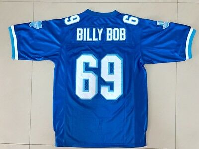 41cf1f8ee BILLY BOB  69 Varsity Blues West Canaan HS Football Jersey Stitched ...
