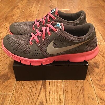 new style 156e2 d367c NIKE FLEX EXPERIENCE RUN RN WOMEN S RUNNING SHOES 525754-007 US Size 10