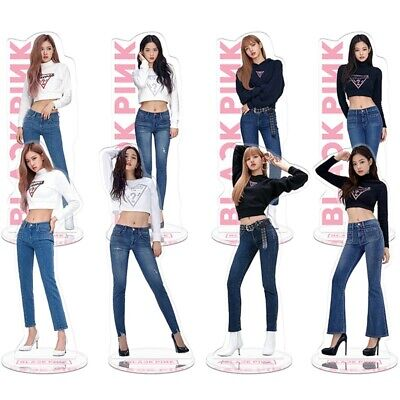 KPOP BLACKPINK Members Acrylic Standee Action Figure Doll Standing Table Decor