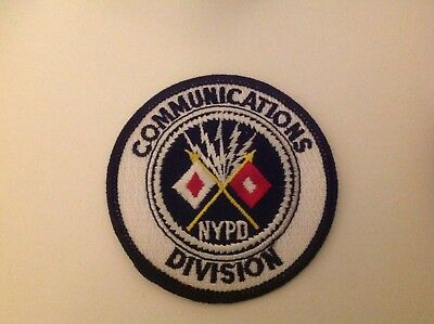 Original Abzeichen USA NYPD New York Police Department - Communication Division