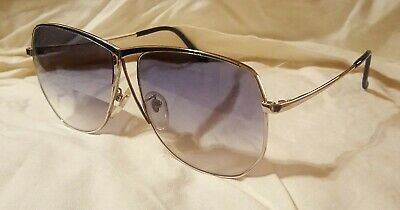 9976dc12d367 NOS VINTAGE TURA MOD 178 Women s Silver Rimless Sunglasses Made in ...