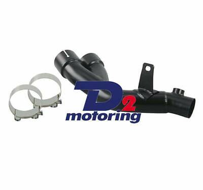 Mid Pipe Y Pipe Link Race Exhaust Decat CAT Eliminator FIT YAMAHA R6 2006-17 D2