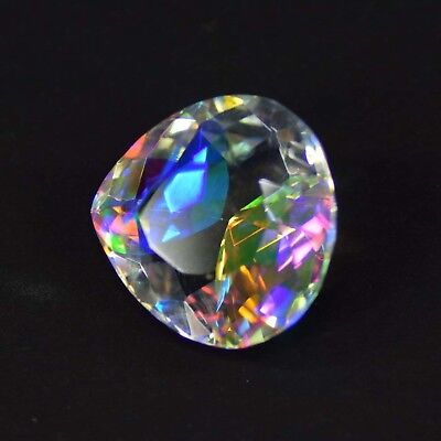 Special Sale 38.05 Carat Rainbow Color Mystic Topaz loose Gemstone