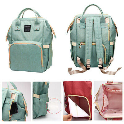Mummy Baby Diaper Nappy Backpack Mom Changing Travel Bag Multi-Function Large