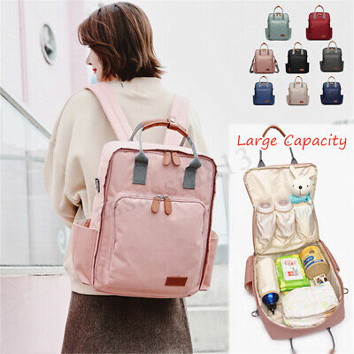LEQUEEN Baby Diaper Bag Mummy Maternity Nappy Waterproof Travel Backpack Fashion