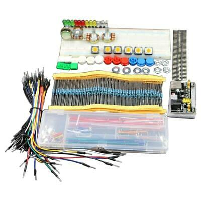 generic parts package + 3.3V/5V power module+MB-102 830 points Breadboard + W3