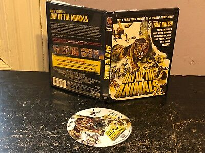 OUT OF PRINT DVD - Day of the Animals HORROR LESLIE NIELSEN