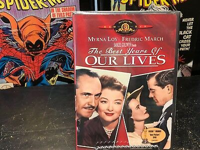 BRAND NEW SEALED OUT OF PRINT DVD The Best Years of Our Lives (DVD) MYRNA LOY