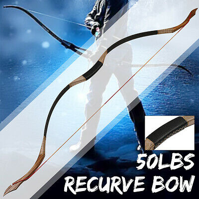 60'' 30-50LBS OUTDOOR Hunting Recurve Bow and Arrows