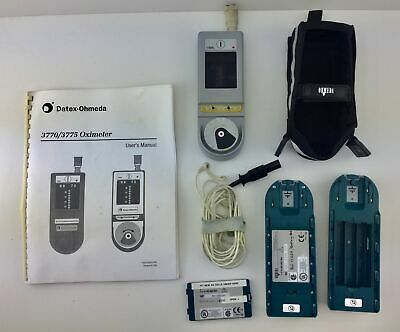 Datex Ohmeda - Oximeter (Ref. 3770) - W/ Probe, Case, Manual & Battery( For AA)